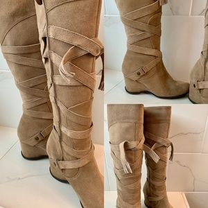 Matisse Leather strappy Boots